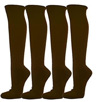 Knee High Sports Athletic Baseball Softball Socks, 4PAIRS pack Wholesale by COUVER