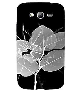 PrintVisa Broken Glass Leaf Design 3D Hard Polycarbonate Designer Back Case Cover for Samsung Galaxy Grand Neo