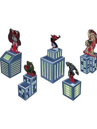 Spiderman Spider Hero Birthday Centerpiece Kit - 1