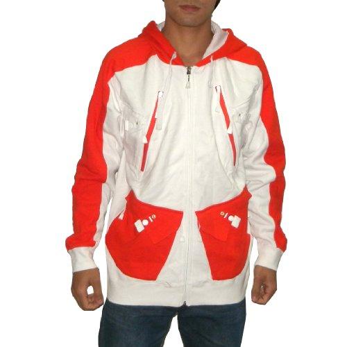 OAKLEY Mens Surf & Skate Zip-Up Sweatshirt Jacket with Hood (Size: L)