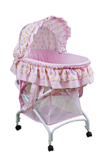 Why Should You Buy Dream On Me 2 in 1 Bassinet To Cradle, Pink