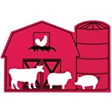 Stencil, 4.88x7.5-inch, Barn Trade Show Giveaway