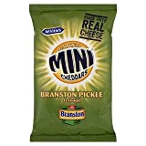 McVitie's Baked Mini Cheddars Branston Pickle Flavour 50g x Case of 18