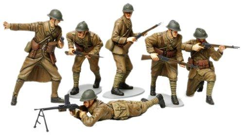1/35 ミリタリーミニチュアシリーズ No.288 フランス歩兵セット