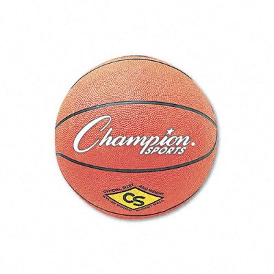 Water-Resistant Rubber-Covered Sports Ball - Rubber/Nylon, 9, Yellow(sold in packs of 3)