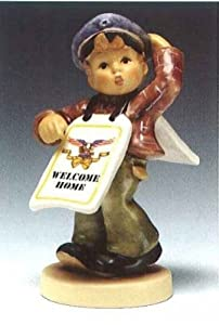 "M I Hummel ""Welcome Home Big Announcement"" Figurine from Goebel"