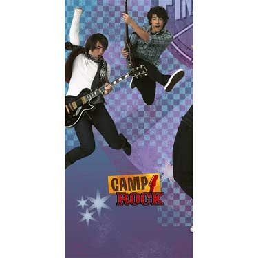 Camp Rock 54in x 102in Plastic Tablecover - 1