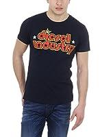 Diesel Camiseta Manga Corta T-Dor (Negro)