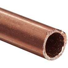 Copper 122-H04 Hard Drawn Round Tubing, ASTM B75