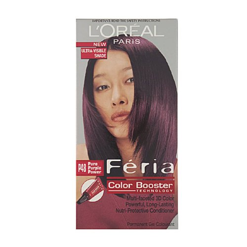 Loreal Feria Color Booster Pure Purple Power P48