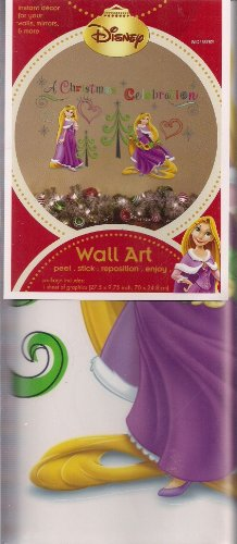 Disney Tangled Holiday Christmas Wall Art Stickers Decals