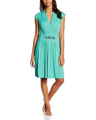 Féraud Vestido Verde Agua