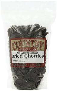 No Sugar Added Dried Tart Montmorency Cherries 1 lb.
