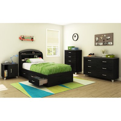 Black Bedroom Furniture Sets 1190 front