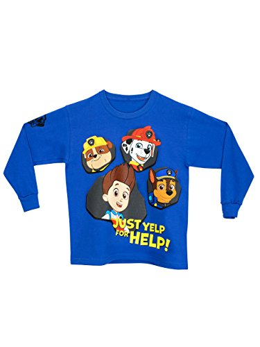 Paw-Patrol-Camiseta-para-nio-La-Patrulla-Canina-5-6-Aos