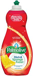 Palmolive Ultra Dish & Sponge Fresh Concentrated Dish Liquid