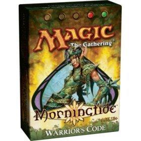 Magic the Gathering: MTG Lorwyn: Morningtide Theme Deck - Warrior's Code (Red/Green)