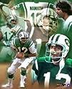 Joe Namath New York Jets NFL 821510 Photograph Legends Collage