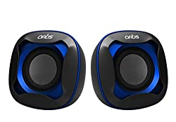 Artis Mini USB XL Speakers (Blue) USB POWER 750W PMPO For Laptop & desktop