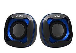 Artis Mini USB XL Speakers (Blue) USB POWER 750W PMPO For Laptop & desktop