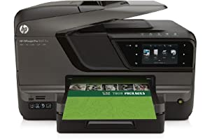 HP Officejet Pro 8600 Plus e-All-in-One Tintenstrahl Multifunktionsdrucker (A4, Drucker, Scanner, Kopierer, Fax, Dokumentenecht, Wlan, USB, 4800x1200)