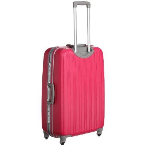 [ジェットエージ] JETAGE ウォッシュ ポリカーボネート製スーツケース Lサイズ(69cm) 74-20226 マゼンタピンク (マゼンタピンク)