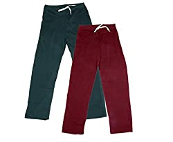 IndiWeaves Women Super Combo Pack 4 (Pack of 2 Lower/Track Pant and 2 T-Shirt)_Gray::Maroon::Red::Purple_XXL
