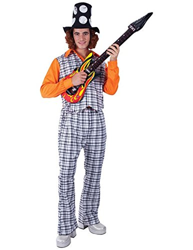 Mens Bangin' Man Noddy Holder 70s Glam Rock Fancy Dress