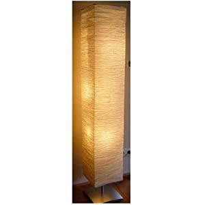 Rice Paper Lamp Shades on Amazon Com Rice Paper Shade Asian Floor Mood Lamp  Home Improvement