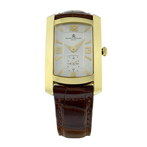 baume-et-mercier-hampton-quartz-white-mens-watch-3425784-certified-pre-owned