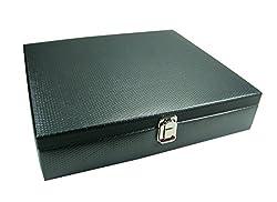 Essart PU Leather Watchcase for Eighteen watches - Grey -WL-04