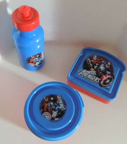 The Avengers 3 Piece Lunch Set