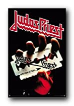 Judas Priest Poster 24X36 British Steel Metal Rock 1582
