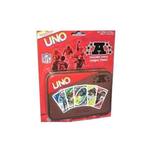 UNO AFC Football Special Edition Card Game in Tin Box by Sababa Toys günstig bestellen