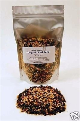 ORGANIC BIRD SEED MIX 1 LB - BIRDSEED - SEEDS for BIRDS