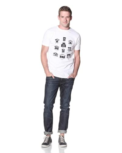 Soulland Men's Chambres Tee  [White]