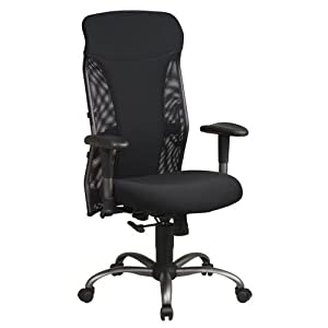cheap mesh high back chair with titanium finish review office chairs