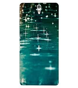 ColourCraft Rain Fall Design Back Case Cover for SONY XPERIA C5 E5553 / E5506