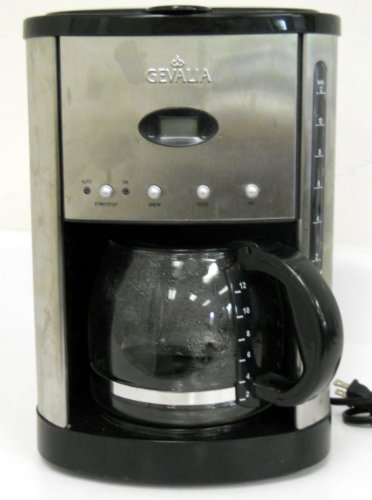 Gevalia One Cup Coffee Maker : Order Now 2013 Gevalia XCC-12 12 Cup Drip Coffee Maker Stainless Steel Calphalon Tri Ply ...
