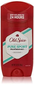 Old Spice High Endurance Pure Sport Scent Men's Deodorant, 3 oz
