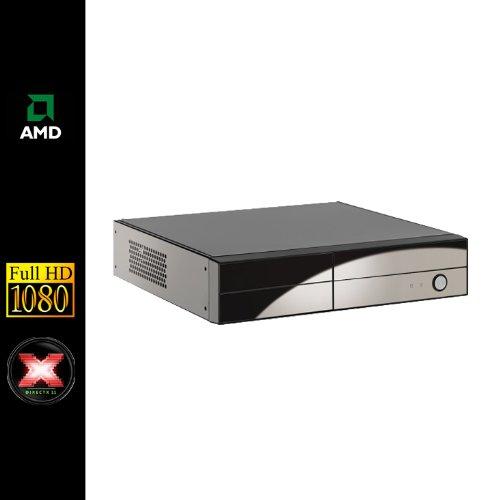 Sedatech - Mini-PC Multimedia - AMD E-350 2x1,6Ghz - 4Gb RAM - 1000Gb HDD - 120Gb SSD - Radeon HD6310 - DVD-RW - Full HD 1080p