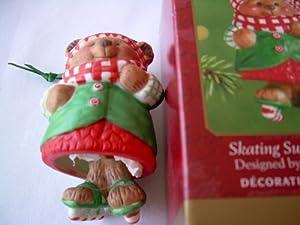 Hallmark Keepsake Ornament Series Skating Sugar Bear Bell Ornament QX6005