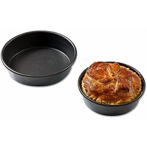 Matfer Bourgeat Aluminum Exal Non-stick Small Tart Pan, 4