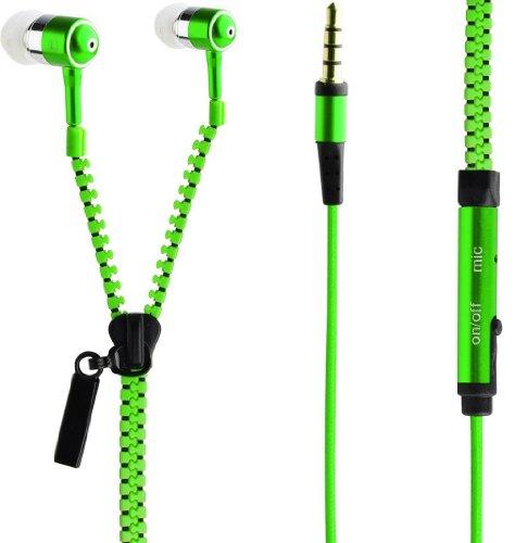 in-ear-auricolari-stile-cerniera-lampo-iphone-ipod-per-mp3-player-vari-colori-disponibili-verde