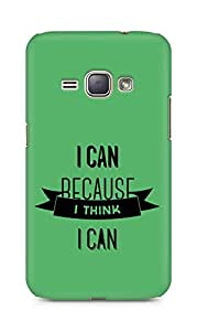 Amez I Can because I Think Back Cover For Samsung Galaxy J1 2016