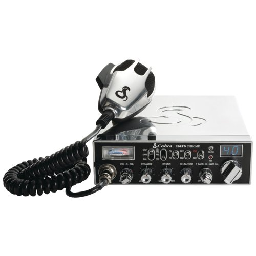 Cobra Electronics 29 Ltd Chr Fully Chrome-Plated 29 Ltd Classic(Tm) Cb Radio With Talkback