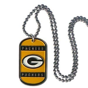 Green Bay Packers NFL Engravable Neck Tag from NFL