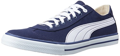 Puma-Mens-917-Lo-DP-Peacoat-White-Canvas-Shoes-11-UK-India46EU