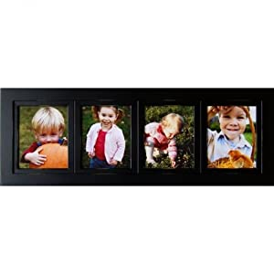 Amazon Com Collage Frames 4 Opening Black 5x7 Multi