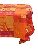ELEGANZA A TAVOLA by MANIFATTURE COTONIERE Mantel de Mesa (Naranja/Rojo)